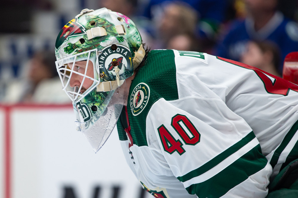 Sharks trade talk, Devan Dubnyk Minnesota Wild